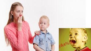 When Child Starts Swearing
