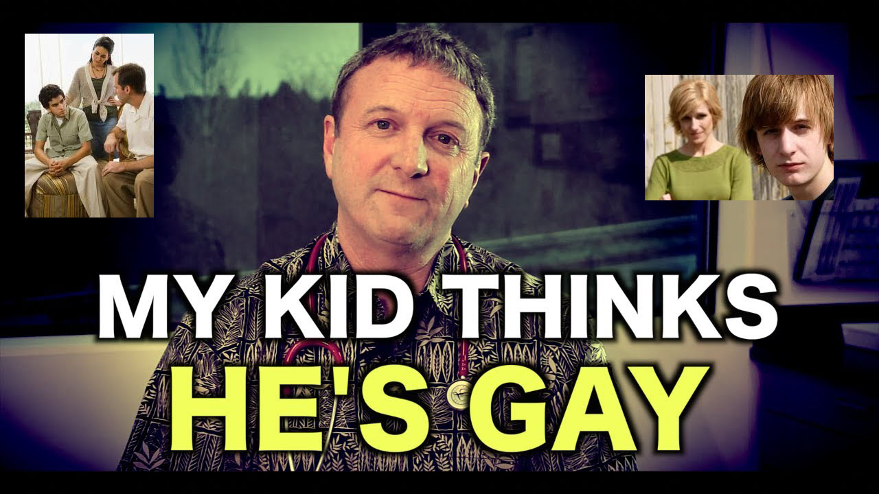 child tells you I'm gay""