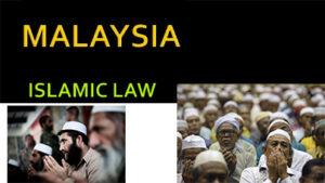 Malaysia Islamic and Customary Law