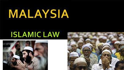 Malaysia Islamic and Customary Law