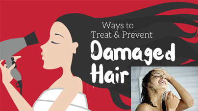 treat damaged hair