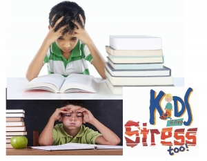 How to deal with your kid's stress