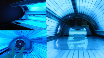 Is it possible to produce vitamin D from tanning beds?