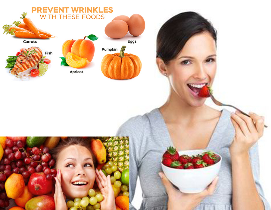 The best way to avoid those wrinkles – nutrient and diet