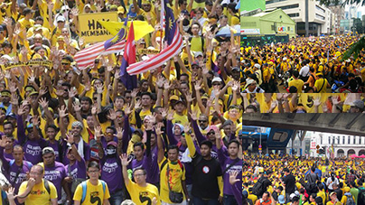 Bersih hits snag with Stadium location