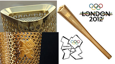 London 2012 Olympic Torch Design