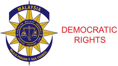 Malaysia Bar Council calls for democratic rights be protected, not threatened
