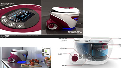PURE the Fruits and Vegetables Purifier and Dryer