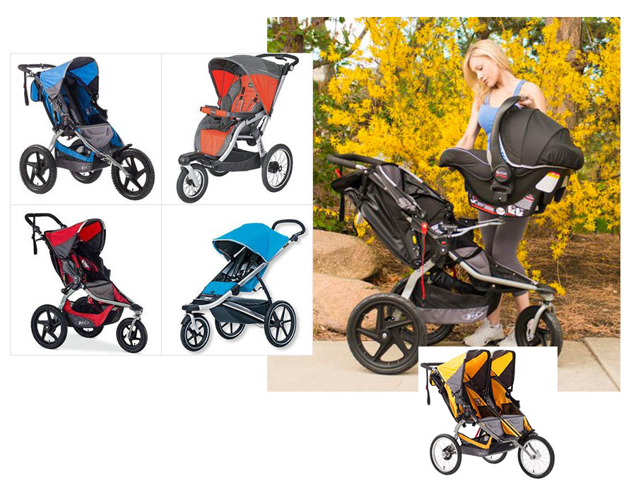 B.O.B. Ironman Jogging Stroller – For the fitness crazy parent