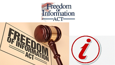 Freedom of Information Act welcomed, but purchase of arms should be excluded