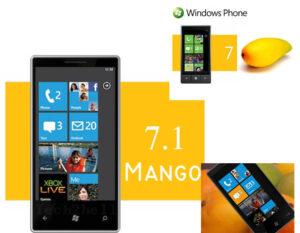 Mango Windows Phone 7 from Microsoft