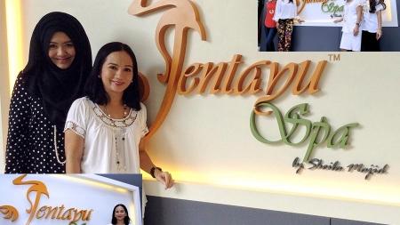 Datuk Sheila Majid – Jentayu Spa, Jerneh skincare