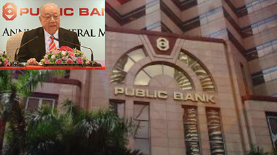 Public Bank is Teh Hong Piow