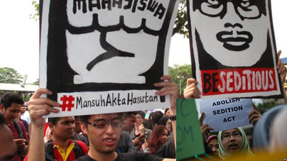 Abolishment of Sedition Act