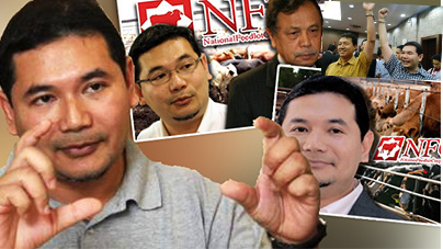 Rafizi and whistleblower