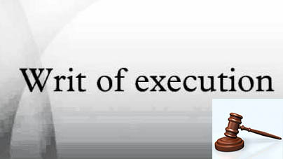 writ-of-execution