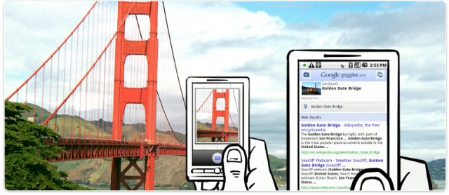 Google Goggles makes travelling and visual search possible