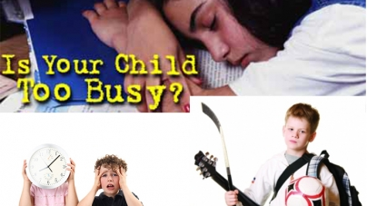 Are your kids too busy?