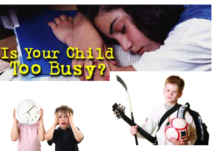 Are your kids too busy