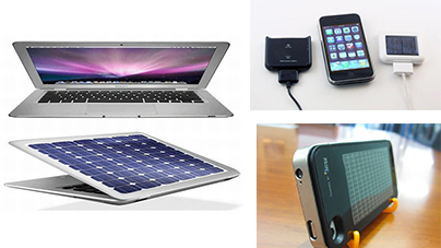 Solar gadgets from Apple