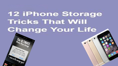 iPhone Storage Tricks