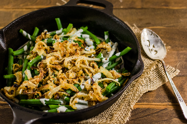 Green Bean Casserole breakfast