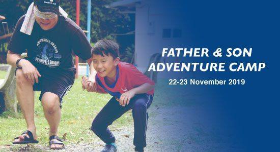 Father & Son Adventure Camp