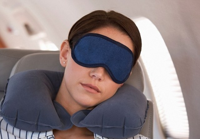Sleeping while flying causes hearing loss, among others