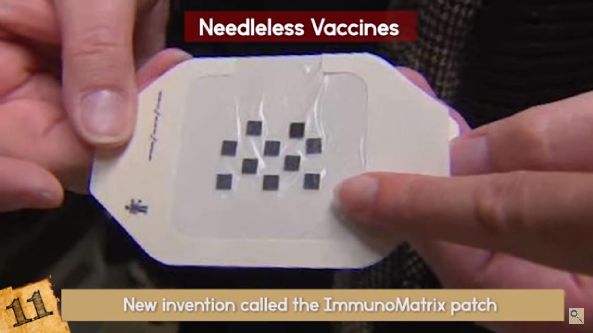 Needle-free vaccines