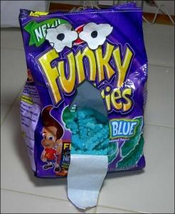 Blue Funky Fries